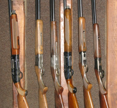 AC Sporting Targets. Free gun hire for clay shooting members.